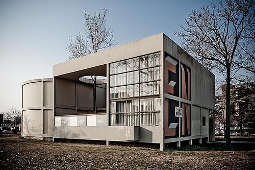 Il Padiglione Esprit Nouveau, progettato da Le Corbusier