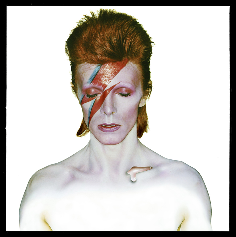 David Bowie, Aladdin Sane, 1973 © Duffy Archive