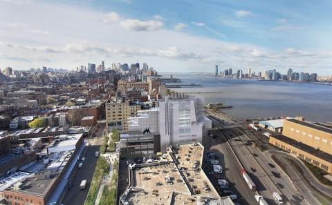 Whitney Museum, il rendering della nuova sede