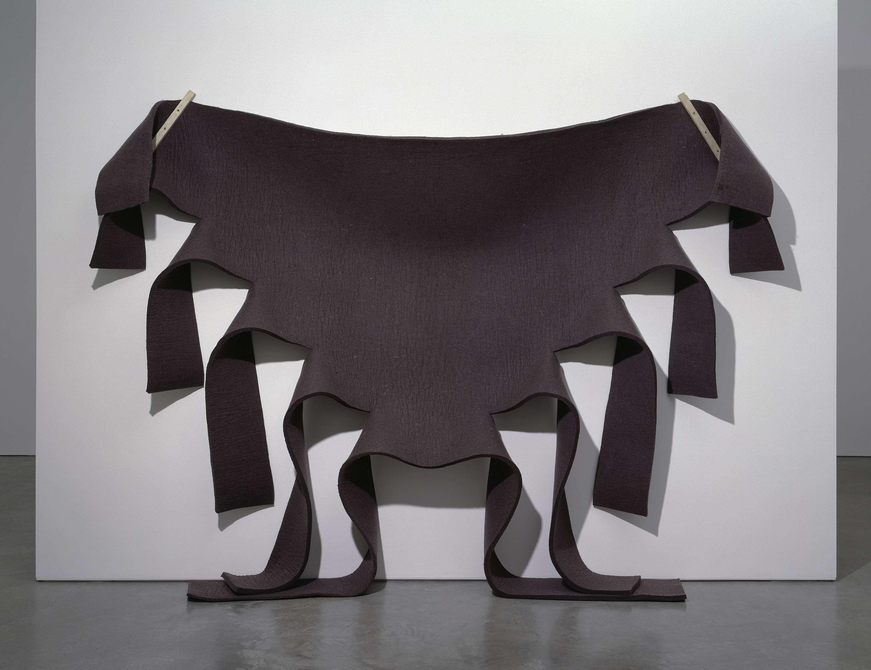 Robert Morris - Untitled (Brown Felt) - 1973