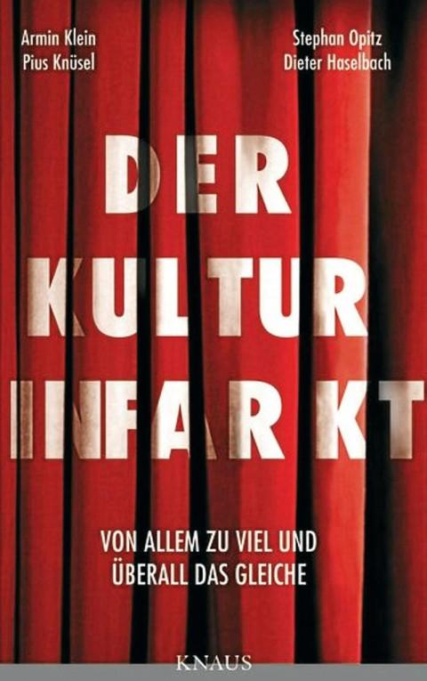 La cover di Der Kulturinfarkt
