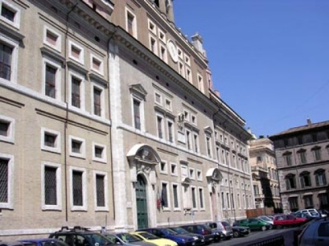 La sede MiBACT in via del Collegio Romano