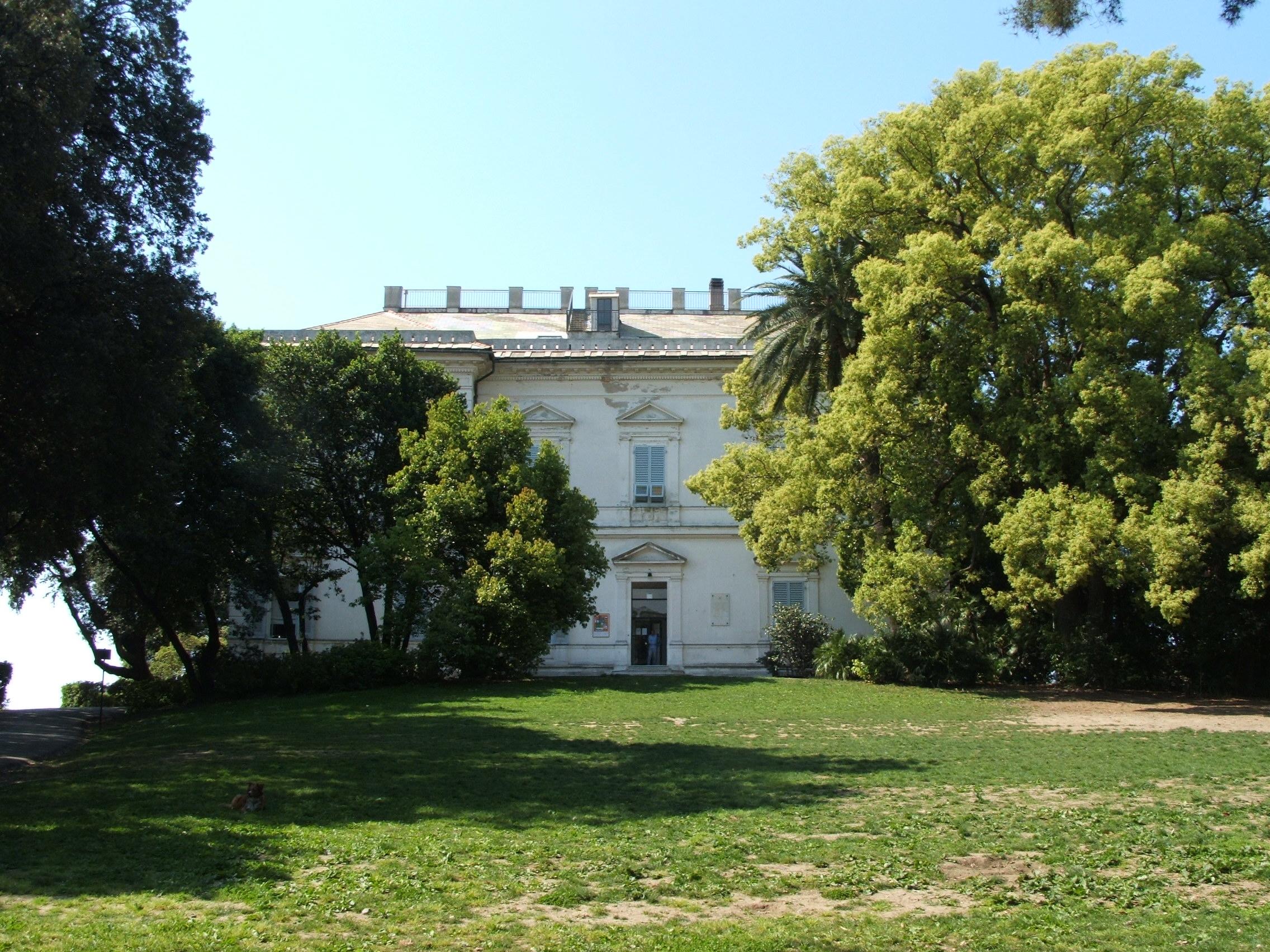Il Museo di Villa Croce, a Genova