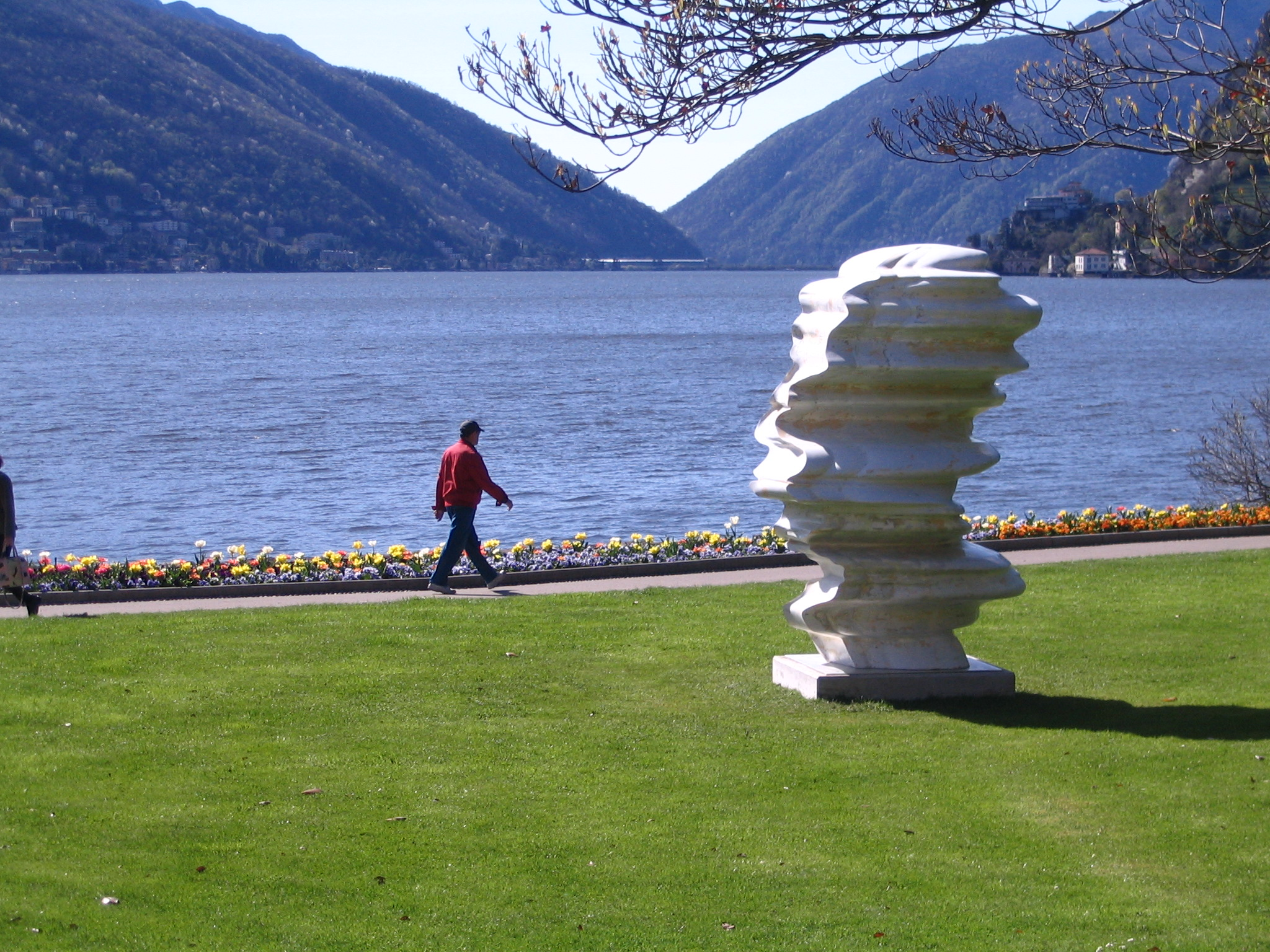 Tony Cragg a Lugano, 2012