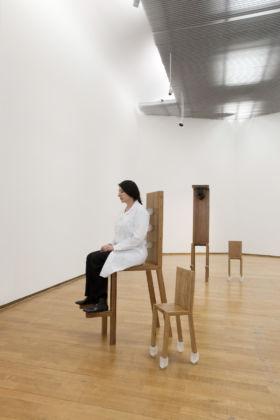 Marina Abramović - The Abramović Method - veduta della mostra presso il PAC, Milano 2012
