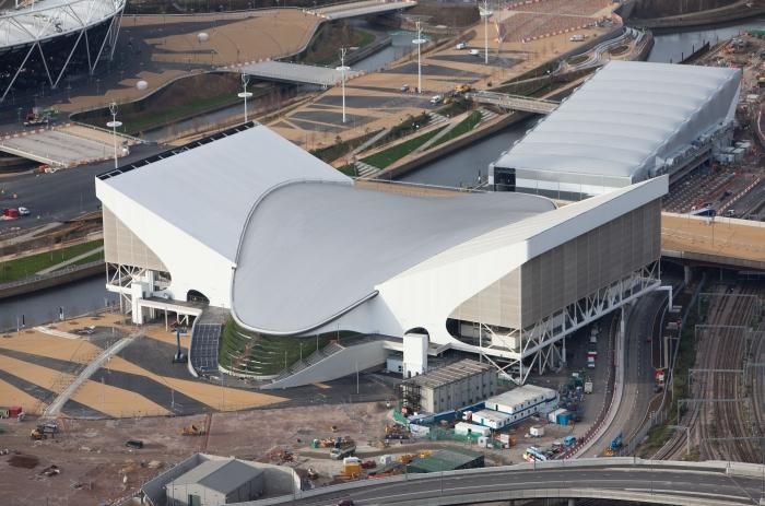 Zaha Hadid - Aquatic Center - Londra