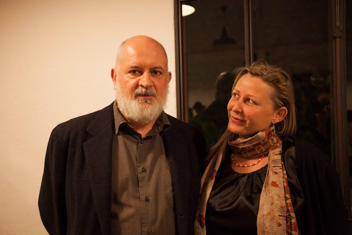 Massimo De Carlo con Elzbieta Bialkowska - foto Ela Bialkowska, Okno Studio