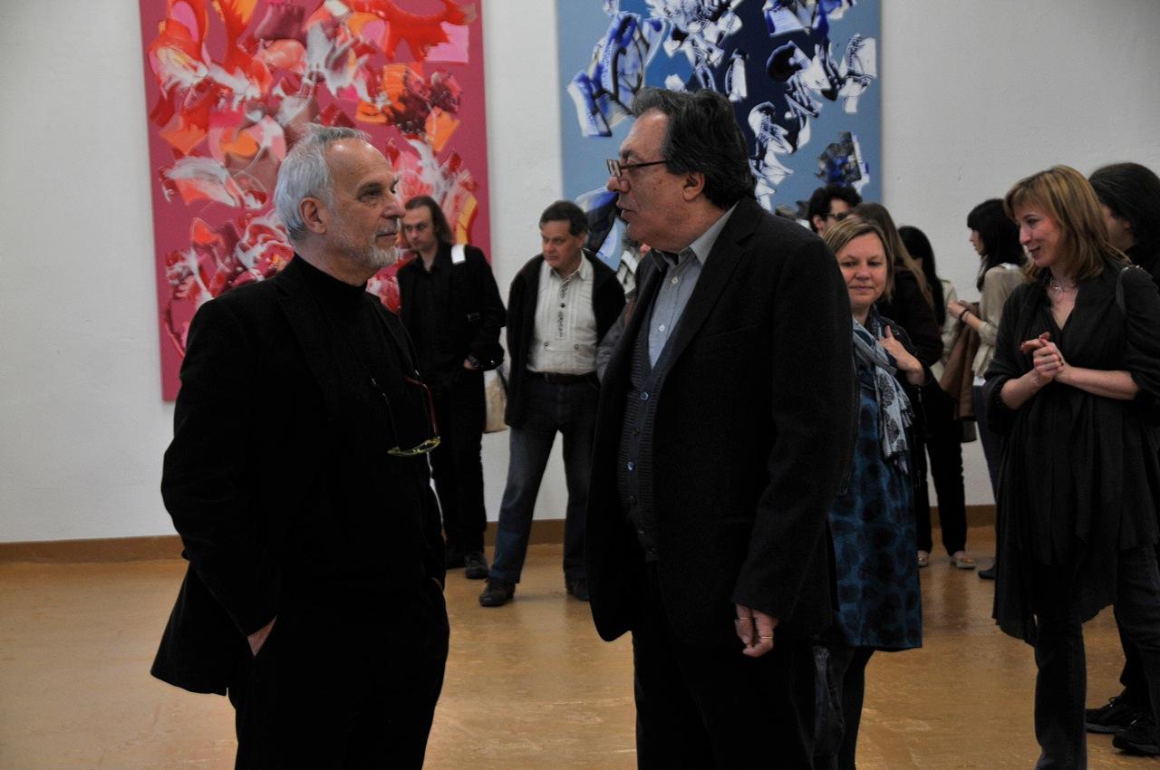 Nino Mustica. Sparkle. Exhibition view at Galleria Bianca Maria Rizzi e Matthias Ritter, Milano 2012