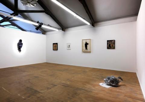 Roberto Cuoghi - Zoloto - veduta della mostra presso la Galleria Massimo De Carlo, Milano 2012 - photo Matteo Piazza