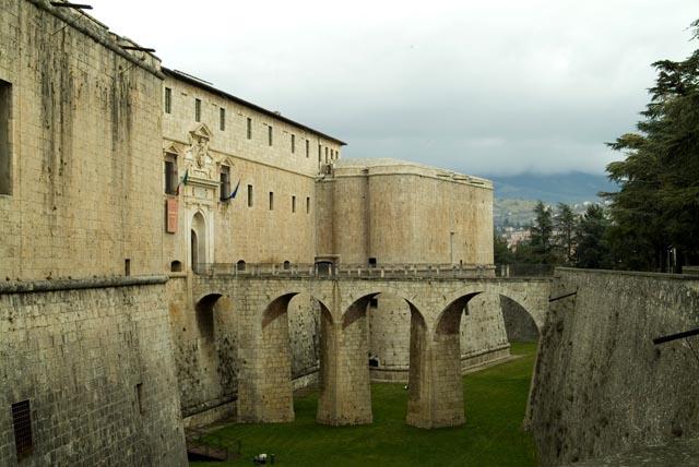 Il Forte Spagnolo, sede del Museo Nazionale d'Abruzzo