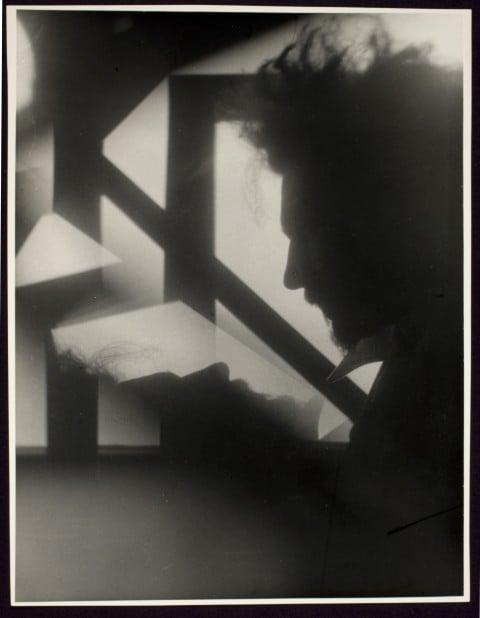 Alvin Langdon Coburn, Vortograph of Ezra Pound, 1917