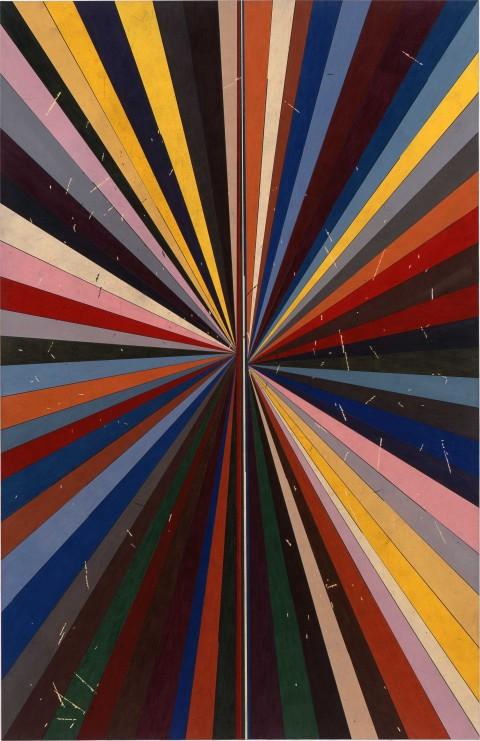 Mark Grotjahn - Untitled (Full Color Butterfly 41.13) - 2010