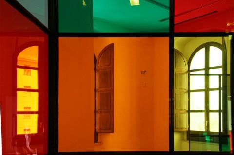 Daniel Buren - Costruire sulle vestigia: impermanenze. Opere in situ - Parco Archeologico di Scolacium, Roccelletta di Borgia 2012
