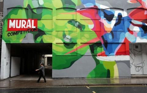 Europe's Largest Permanent Street Art Installation Returns To Bristol