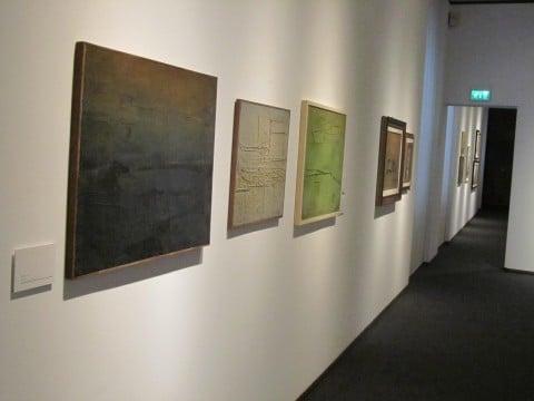 Scatizzi. L'ipotesi della pittura - veduta della mostra presso la Fondazione Ragghianti, Lucca 2012