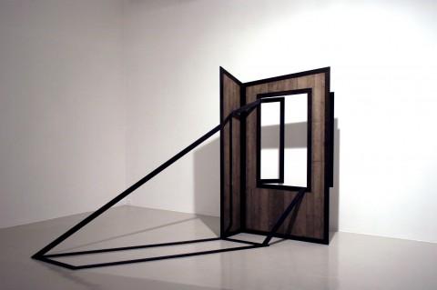 Giuseppe Uncini - Finestra con ombra - 1968 - Courtesy Fondazione Marconi, Milano