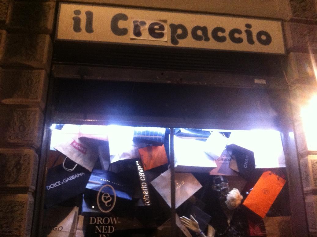 Il Crepaccio, Milano
