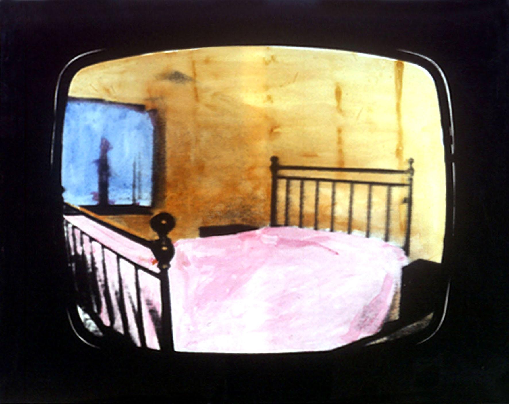 Mario Schifano - Paesaggio TV - 1970 - Courtesy Fondazione Marconi, Milano