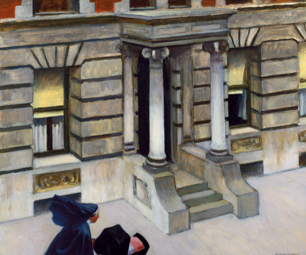 Edward Hopper - New York Pavements, 1924_1925, Chrysler museum of Art, Norfolk