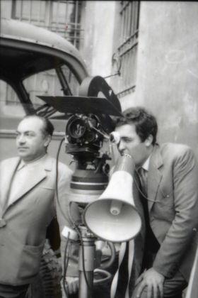 Mario Dondero, Bernardo Bertolucci durante le riprese del film Prima della rivoluzione, 1964