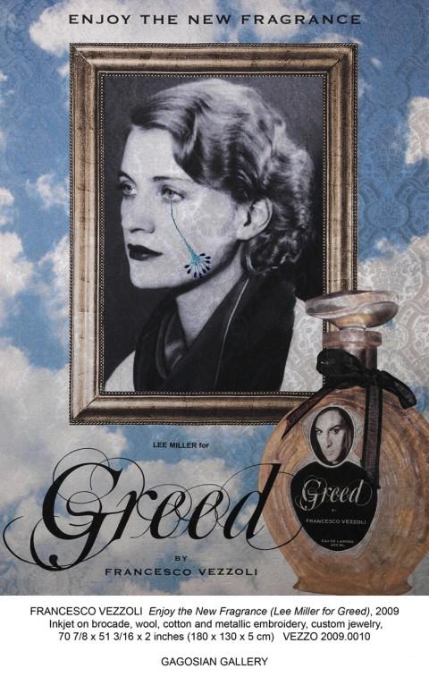 Francesco Vezzoli - Enjoy the New Fragrance (Lee Miller for Greed) - 2009