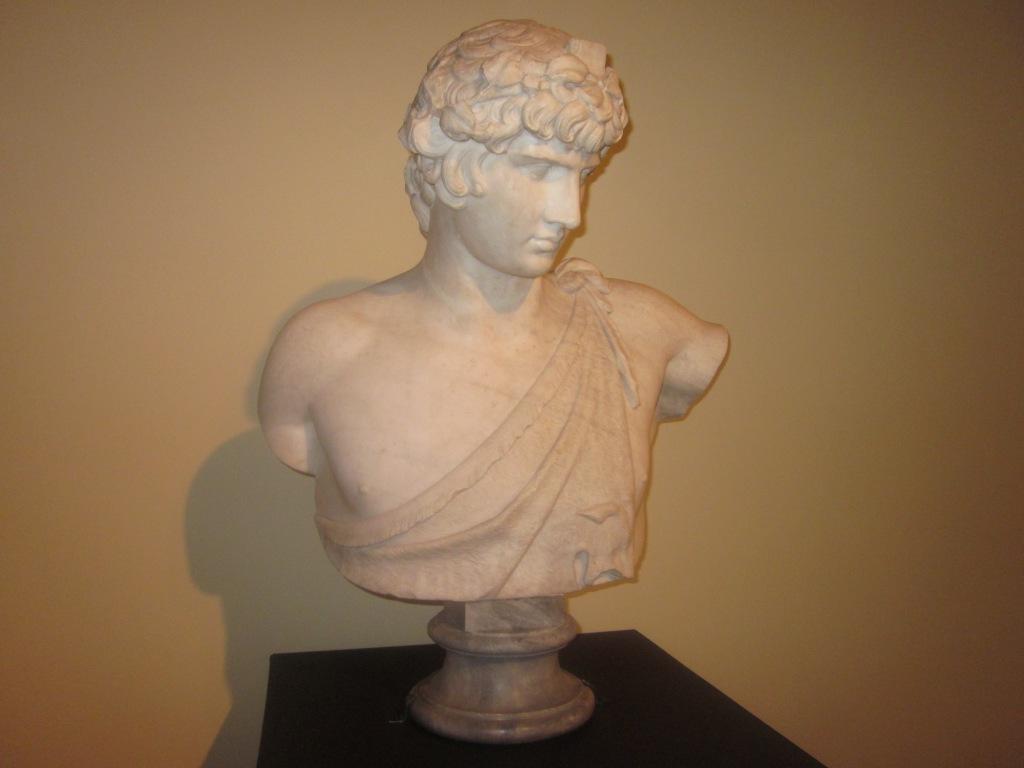 Francesco Vezzoli, Self- portrait as Hemperor Hadrian Loving Antinous, Villa Adriana, Tivoli