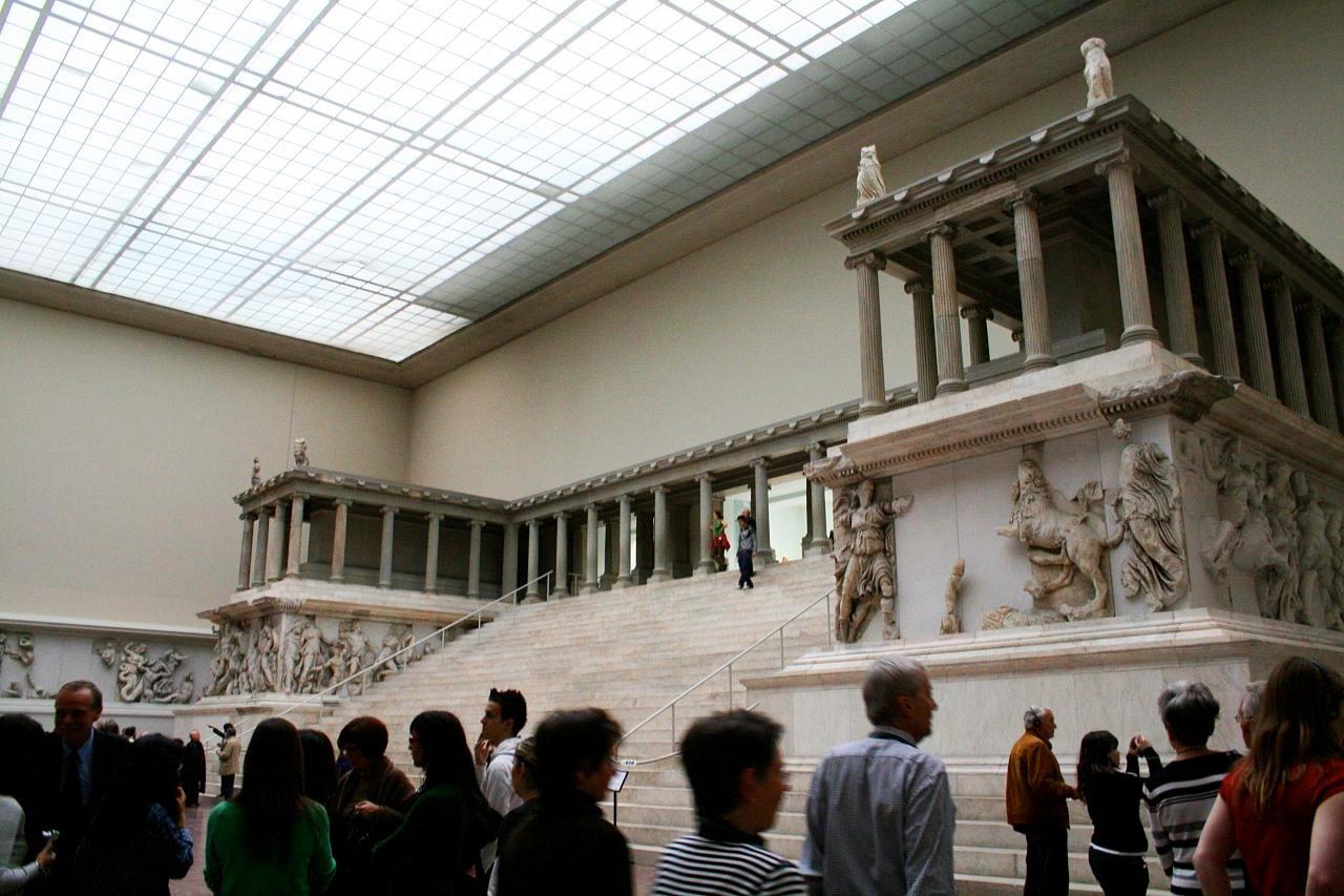 L'Altare di Pergamo, a Berlino