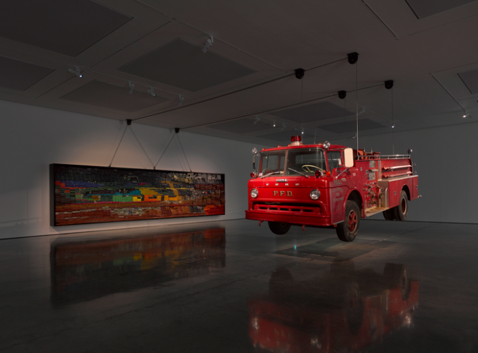 Theaster Gates - Raising Goliath 2012 - courtesy Whitecube