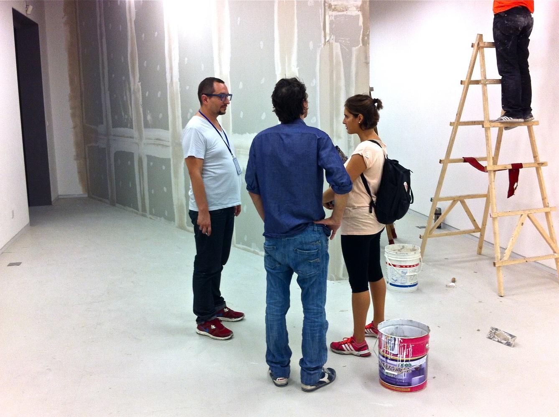 Biennale di Shanghai / Padiglione italiano: Palermo Felicissima - backstage: Davide Quadrio, Manfredi Beninati, Laura Barreca