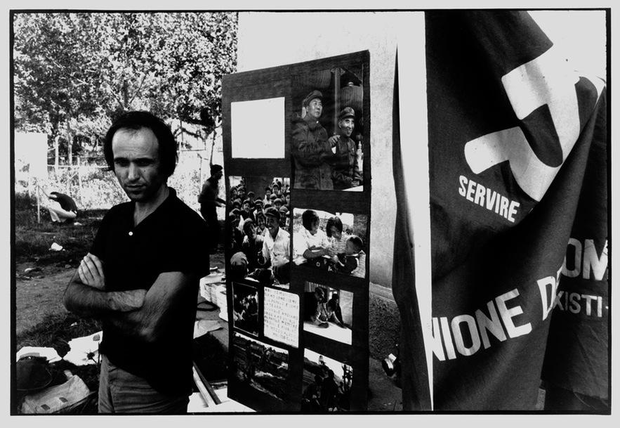 Mario Schifano, inizio Anni Sessanta. Courtesy Archivio Mario Schifano