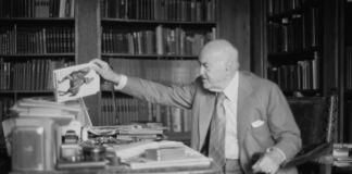 Milton Gendel - Harold Acton