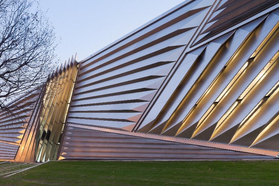 Zaha Hadid - Eli and Edythe Broad Art Museum, East Lansing, Michigan (foto Iwan Baan)