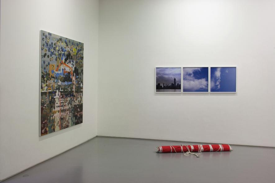 Padraig Timoney - Stanligrad in every city - veduta della mostra presso la Galleria Raucci/Santamaria, Napoli 2012