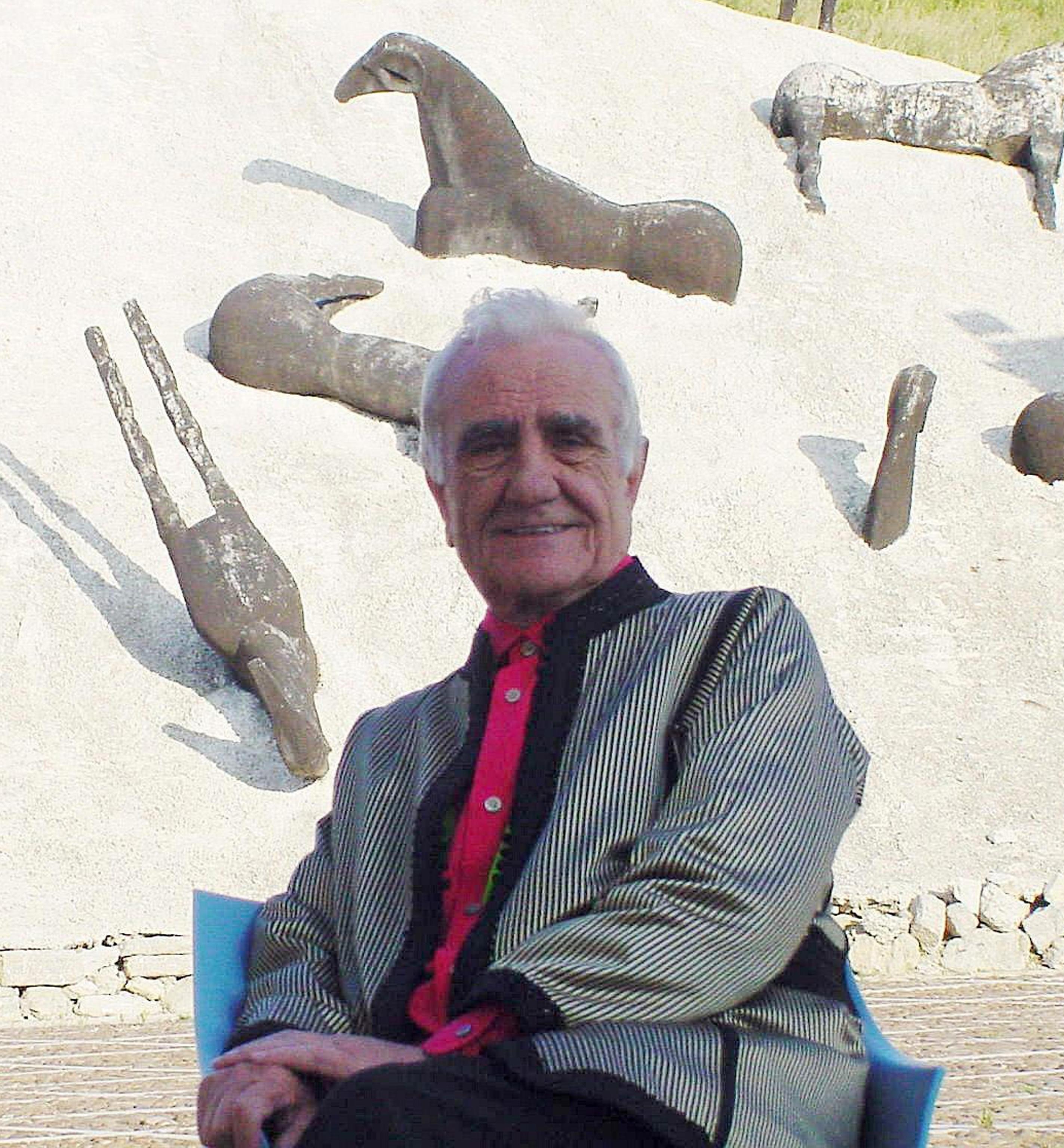 Il Senatore Ludovico Corrao, fondatore della Fondazione Orestiadi
