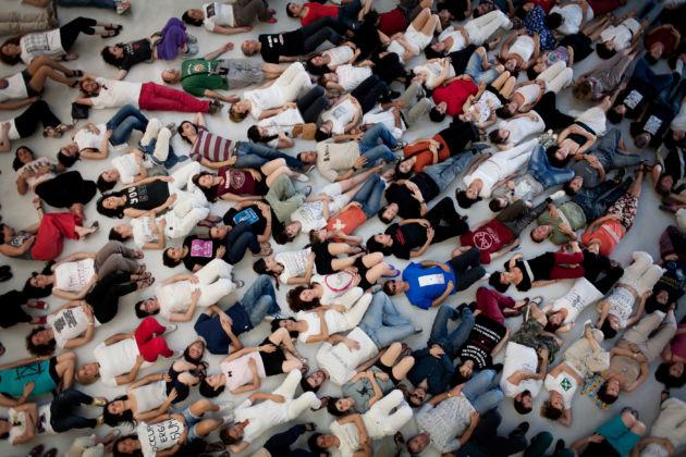 Marzia Migliora, Capienza massima meno uno, 2012, courtesy Fondazione Maxxi, Roma. Photo Gilda Louise Aloisi