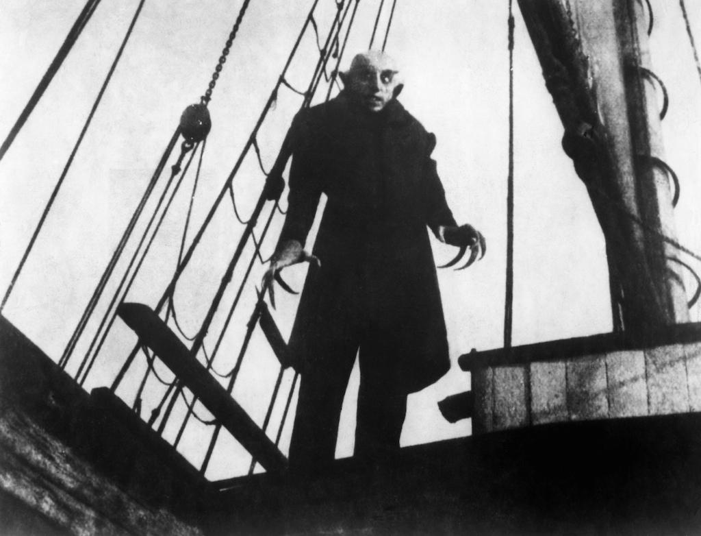 Nosferatu il vampiro di Friedrich Wilhelm Murnau, 1922