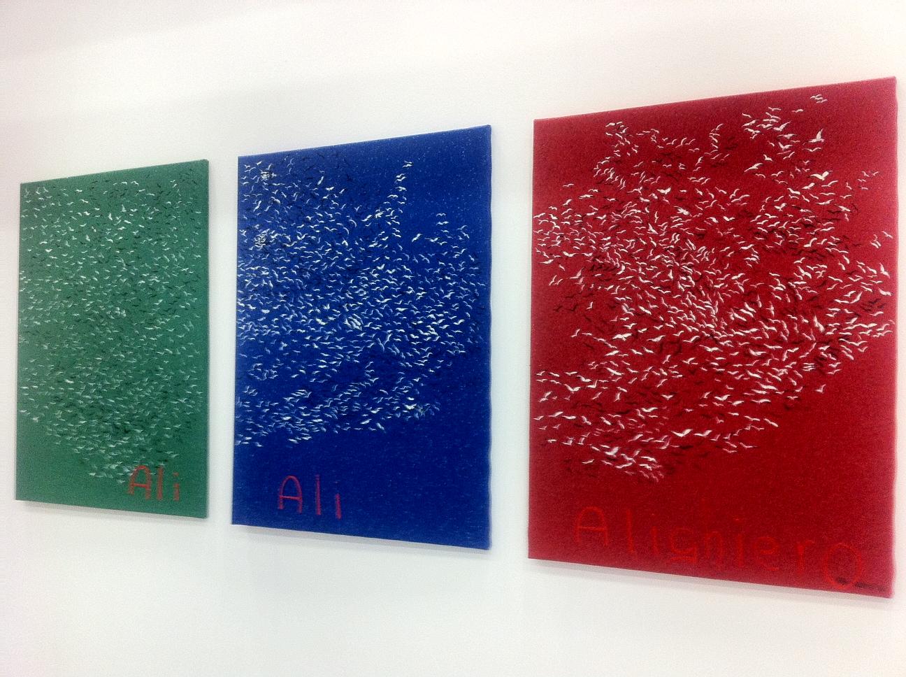 Aldo Mondino omaggia Alighiero Boetti, artista dominus di Artefiera 2013