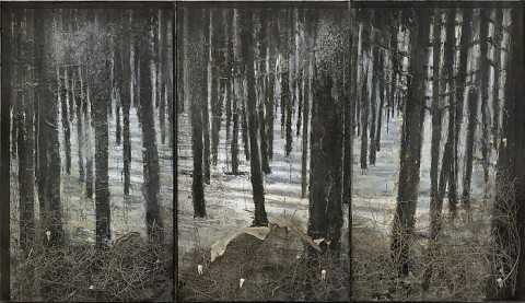 Anselm Kiefer, Winterland, 2010 - courtesy Gagosian gallery