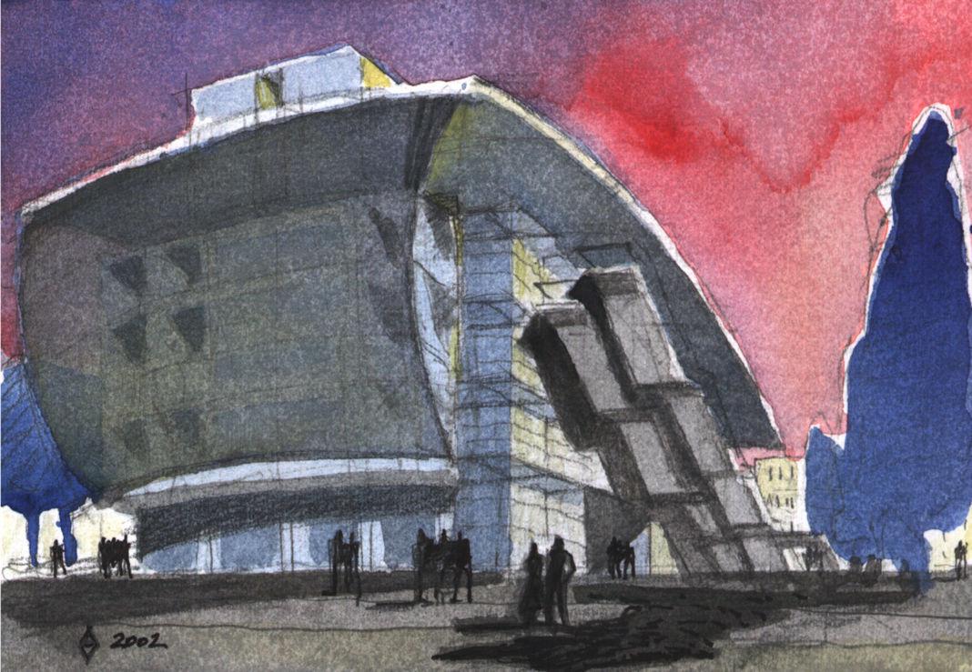 Alessandro Anselmi, Palazzo dei Congressi, Riccione (Rimini), 1999-2008