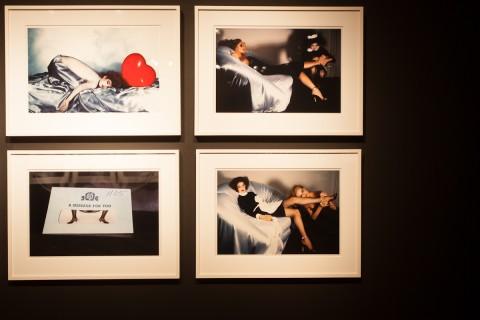 Guy Bourdin - A message for you - veduta della mostra presso il MNAF, Firenze 2013