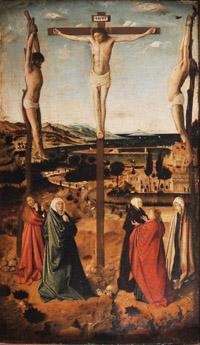 Antonello da Messina - Crocifissione - 1465-1470 circa - Sibiu, Muzeul National Brukenthal
