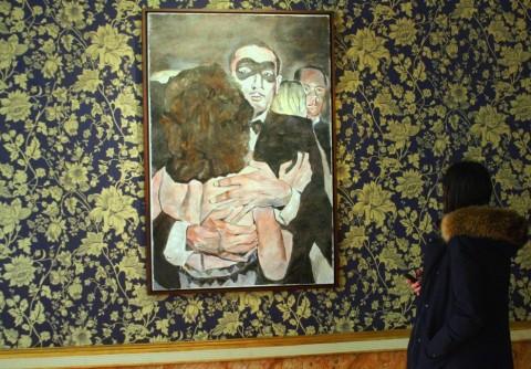 Bob Dylan - The New Orleans Series - veduta della mostra presso Palazzo Reale, Milano 2013