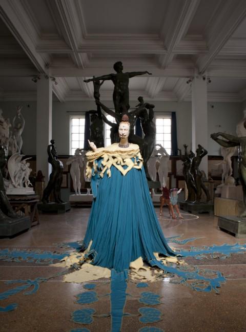 Luigi Ontani - AndarSennoSogno - veduta della mostra presso il Museo Andersen, Roma 2013
