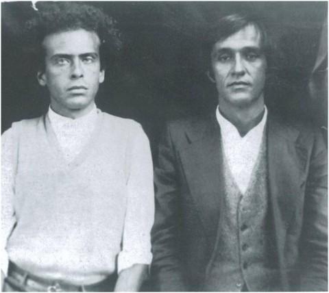 Francesco Clemente e Alighiero Boetti, Kabul, 1974, Courtesy Archivio Alighiero Boetti, Roma