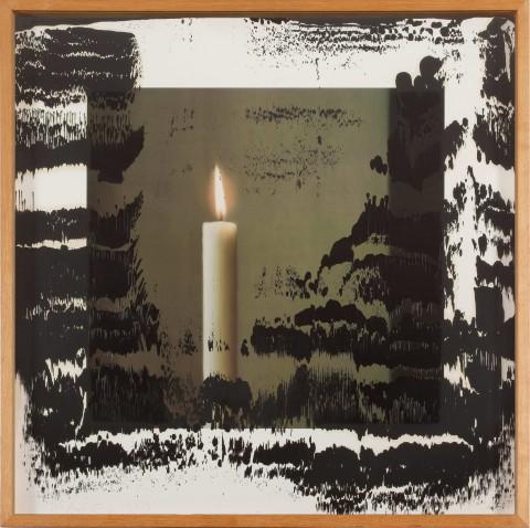 Gerhard Richter, Kerze II, 1989