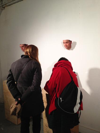 Heather Dewey-Hagborg @ The Clocktower Gallery