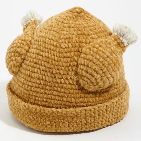 Knitted Turkey Hat