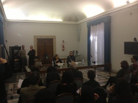 Conferenza stampa Padiglione Italia