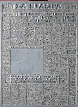 Ezio Gribaudo, Flano, 1965