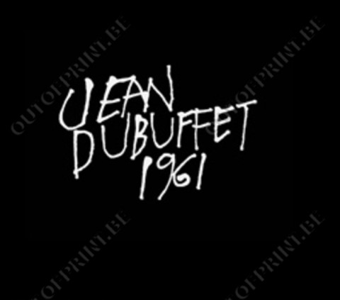 Jean Dubuffet 1961